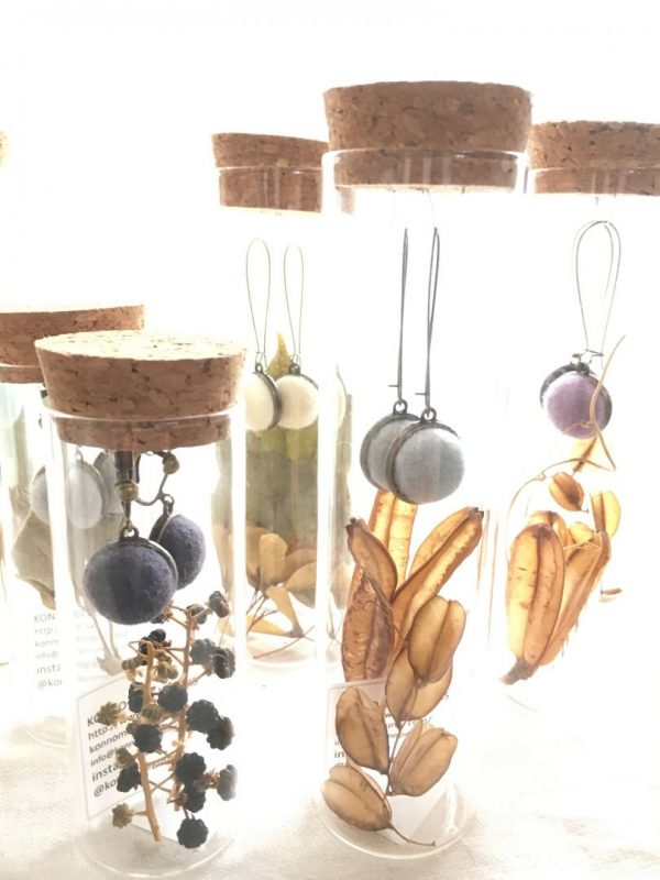 botanical earring